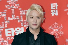 XIA Junsu attends at Press Conference and Christmas Giving Event for Movie 'Tower'
