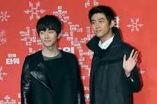 2PM Tacyeon and Junho attends at Press Conference and Christmas Giving Event for Movie 'Tower'