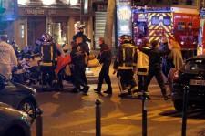 Paris terror attacks aftermath.
