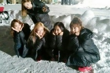 Girls' Generation Shines Even in the Snow