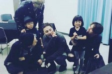 Choo Sarang with Big Bang members