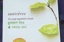 INNISFREE It's Real Squeeze Mask, Green Tea