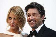 Jillian Fink and Patrick Dempsey at the 2011 amfAR Cinema Against AIDS event.