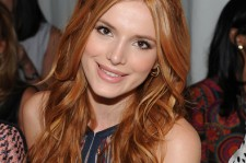 Bella Thorne at the J. Mendel - Front Row - Spring 2016 New York Fashion Week.