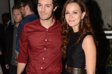Adam Brody and Leighton Meester at