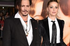 Johnny Depp and Amber Heard at