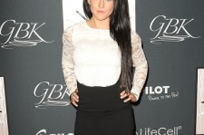 Jenelle Evans at the GBK & PILOT PEN New York Fashion Week Style Lounge.
