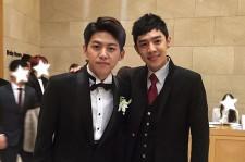 Super Junior's Kyuhyun Sings As Former U-KISS Member Dongho Gets Married