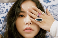 Korean actress Min Hyo Rin Vogue Girl magazine December 2015 photos