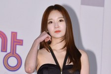 Kang Min Kyoung at the MBC Entertainment Award Ceremony on December 29
