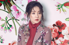 Actress Lee Young Ae JLOOK magazine december 2015 photos