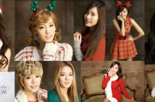 SNSD in the winter album