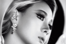 2NE1 CL Elle Magazine December 2015 photos Maybelline