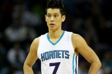 Jeremy Lin at the New York Knicks vs Charlotte Hornets game last Nov. 11.