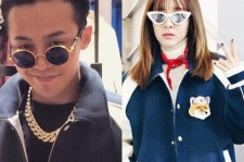 G-Dragon and Sandara Park
