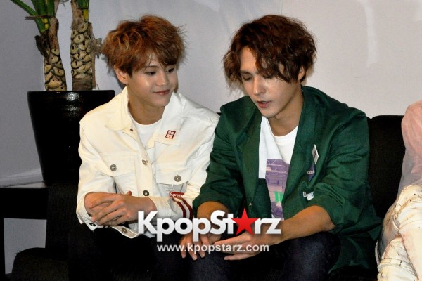 KpopStarz Interviews BEAST At 'Ordinary' Fan Meet In Singapore 2015 [PHOTOS]key=>4 count8