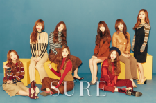 Lovelyz sure magazine december 2015 photos
