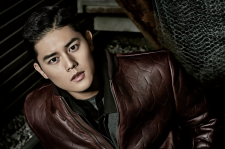 ZEA's Dongjun arena homme+ magazine december 2015 photos