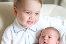 Prince George & Princess Charlotte Of Cambridge - Official Photographs Released