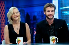 Jennifer Lawrence and Liam Hemsworth at the