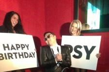 "Psy Celebrates His Birthday ""Gangnam Style"" in Las Vegas"