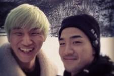taeyang daesung visit g-dragon's pension