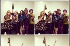 champagne for 2ne1, milk for lee hi
