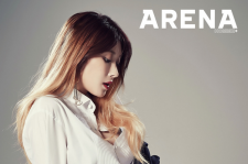 Nine Muses HyunA Arena Homme+ Magazine December 2015 photos