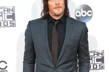 Norman Reedus at the 2015 American Music Awards.
