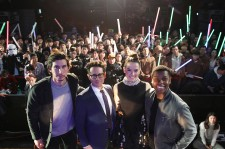 'Star Wars: The Force Awakens' Fan Event In Seoul (John  Boyega, Daisy Ridley, Adam Driver, J.J. Abrams)
