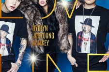 Hyolyn, Bumkey, and Joo Young