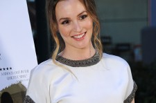 Leighton Meester at the