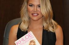 Khloe Kardashian at the
