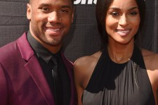 Russell Wilson and Ciara at the 2015 ESPYs.