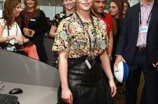 Emilia Clarke at the BGC Annual Global Charity Day.