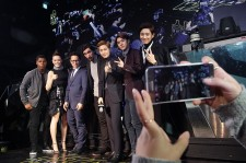 'Star Wars: The Force Awakens' Fan Event In Seoul (John  Boyega, Daisy Ridley, Adam Driver, J.J. Abrams and EXO)