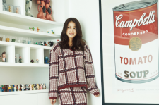 Lee Si Young InStyle Magazine December 2015 photos