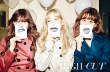 TaeTiSeo Tiffany Taeyeon Seohyun High Cut. Vol. 164 Magazine 2015 Photos