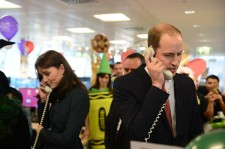 The Duke And Duchess Of Cambridge Attend The ICAP