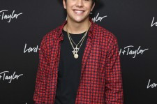 Justin Mahone at the Lord & Taylor NYC 2015 Holiday Windows Unveiling.