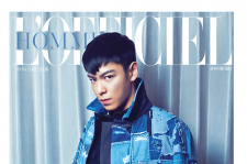 Big Bang T.O.P L'officiel Hommes  magazine january 2015 photos