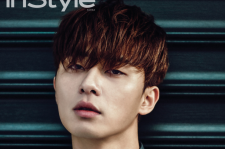 Park Seo Joon InStyle Magazine January 2015 photos