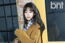 Kim Seul Gi BNt International magazine january 2016 photos
