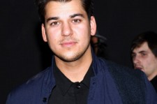 Rob Kardashian at the Macy's Ideology Press Launch in 2011.