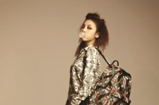 Fashion magazine, First Look did a shoot with KARA member Goo Hara.