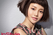 Ha Yeon Soo Instyle Magazine January 2016 photos