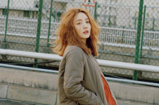 Younha The Celebrity magazine january 2016 photos