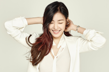 Girls' Generation Tiffany Sure Magazine January 2016 photos