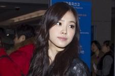 Airport Fashion: A Pink's Son Na Eun Leaving to Hong Kong at Incheon Airport