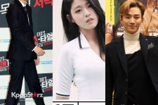EXO's Kai, AOA's Seolhyun, and 2PM's Junho